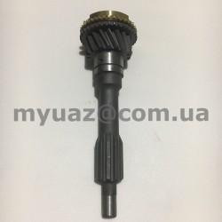 Вал первичный КПП УАЗ 469(31512),452 (нов.обр.) с кол. синхр.