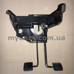 Блок педалей УАЗ-469 в сборе тормоз и сцепление (ОАО УАЗ)