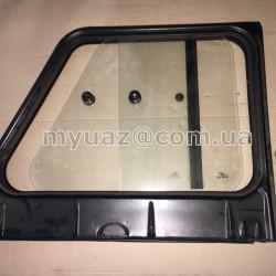 Надставка двери задн.лев УАЗ-31514,-19(мет.крыша,раздв.стекла) в сб. со стеклом (пр-во УАЗ)