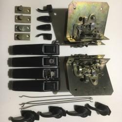 Замок двери УАЗ-3151-ЛЮКС с тягами и ручками комплект 4шт.