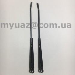 Поводок (рычаг стеклоочистителя) УАЗ 452 ст/обр черная