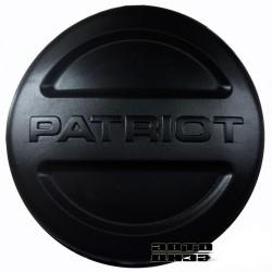 Чехол запаски УАЗ 16 пластик/ черный