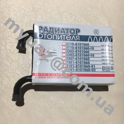Радиатор отопителя УАЗ-3160 медный 3-х рядныйШААЗ